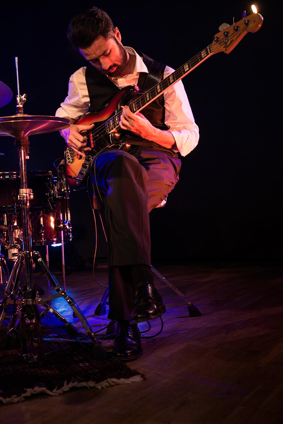Jazzband kindofblue Bass Florian Jauker