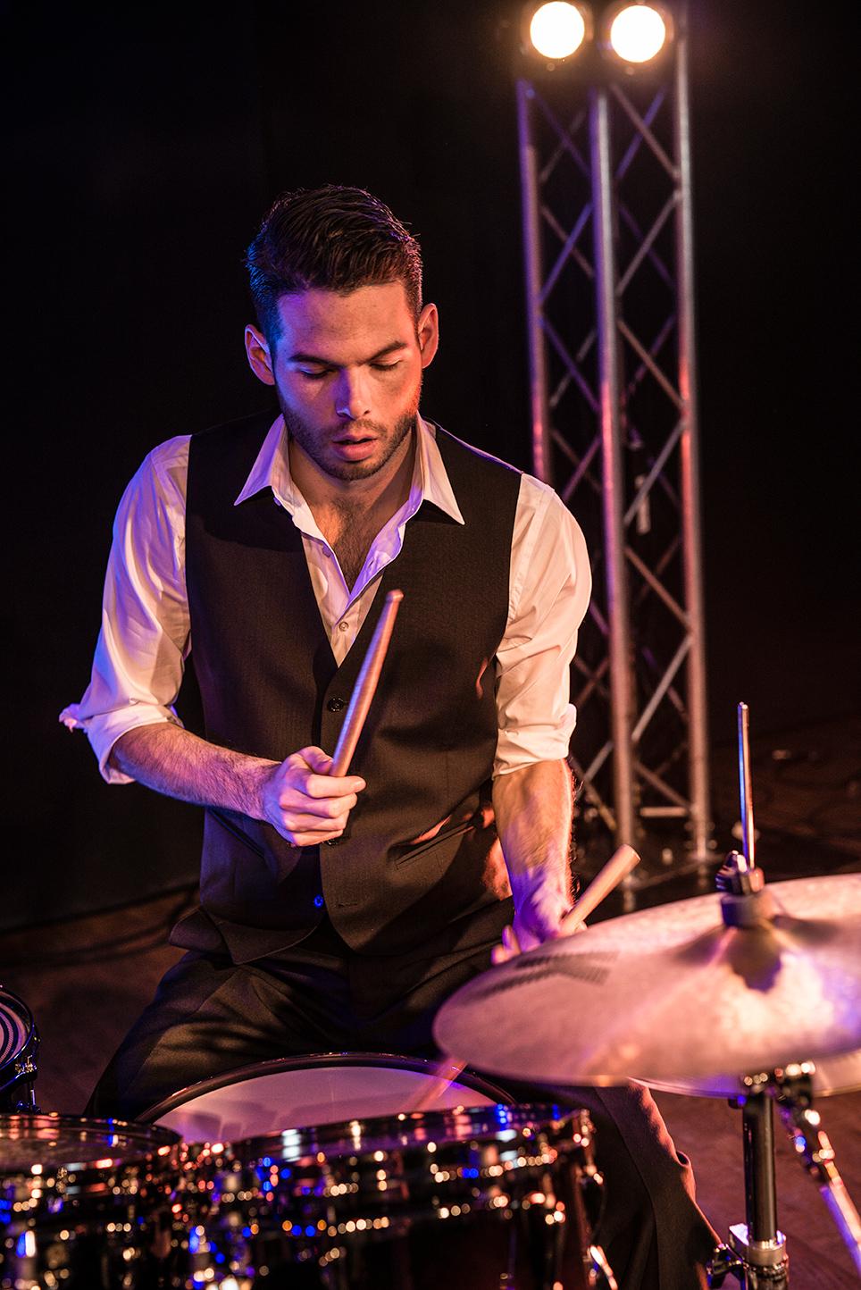 Jazzband kindofblue Drums Raphael Stickler