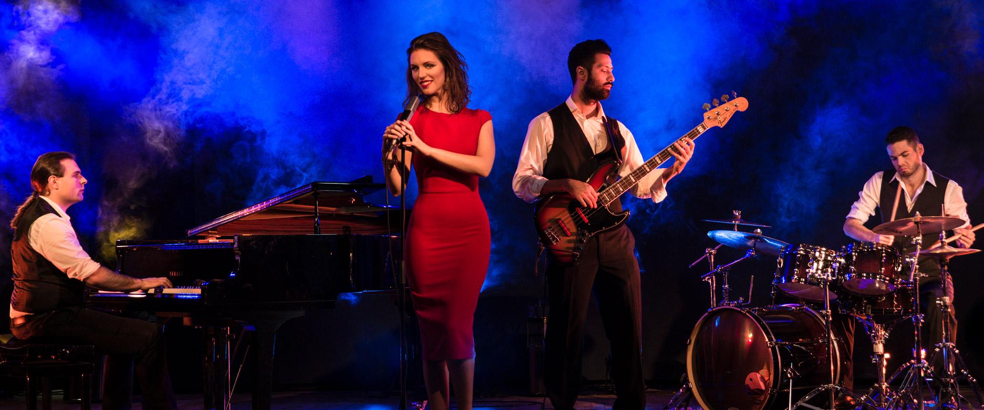 Jazzband kindofblue Hintergrund live